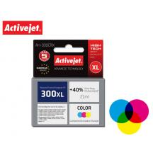 ACTIVEJET INK ΓΙΑ HP #300XL TRICOLOR CC644 AH-C44 21ml (Α)