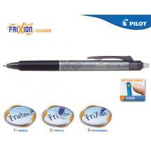 PILOT ΣΤΥΛΟ FRIXION CLICKER 0.5mm ΜΑΥΡΟ 12Τ.