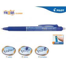 PILOT ΣΤΥΛΟ FRIXION CLICKER 0.5mm ΜΠΛΕ 12Τ.