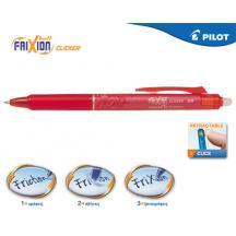 PILOT ΣΤΥΛΟ FRIXION CLICKER 0.5mm ΚΟΚΚΙΝΟ 12Τ.