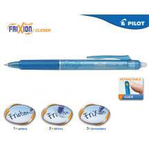 PILOT ΣΤΥΛΟ FRIXION CLICKER 0.5mm ΓΑΛΑΖΙΟ 12Τ.