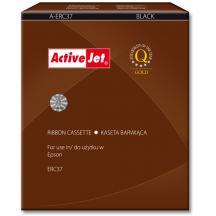 ACTIVE JET ΜΕΛΑΝΟΤΑΙΝΙΑ ΓΙΑ EPSON #A-ERC37 BLACK 13mmx8m (Ν)