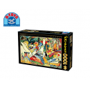 D-TOYS ΠΑΖΛ 1000Τ.68x47cm KANDINSKY YELLOW-RED-BLUE